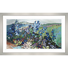 Buy Maryann Ryves - Delphiniums Framed Print, 107 x 67cm Online at johnlewis.com