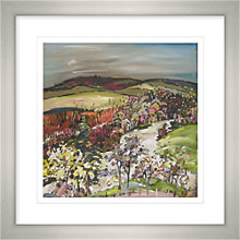 Buy Maryann Ryves - River Tay From Above Framed Print, 65 x 65cm Online at johnlewis.com