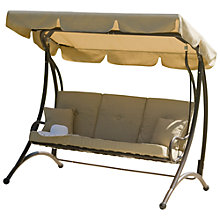 Buy Suntime Ferndown 3-Seat Swing Online at johnlewis.com