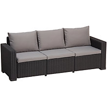 Buy Suntime California Outdoor 3-Seater Sofa Online at johnlewis.com