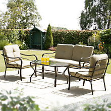 Buy Suntime Ferndown 4-Piece Lounge Set Online at johnlewis.com