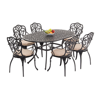 Suntime Sussex 6-Seater Dining Set