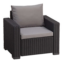 Buy Suntime California Outdoor Armchair, Graphite Online at johnlewis.com