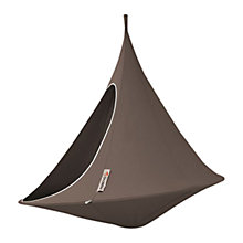 Buy Cacoon Double Hanging Seat, Dia.1.8m, Taupe Online at johnlewis.com