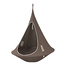 Buy Cacoon Single Hanging Seat, Dia.1.5m, Taupe Online at johnlewis.com