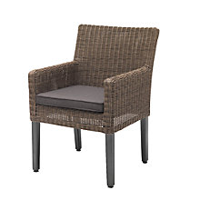 Buy KETTLER Bretagne Outdoor Dining Chair, Rattan / Natural Online at johnlewis.com