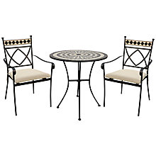 Buy Leisuregrow Casablanca Outdoor Bistro Set Online at johnlewis.com