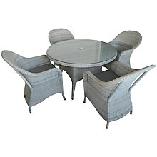 Buy 4 Seasons Outdoor Java 4-Seater Round Dining Set Online at johnlewis.com