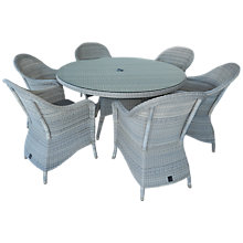 Buy 4 Seasons Outdoor Java 6-Seater Round Dining Set Online at johnlewis.com