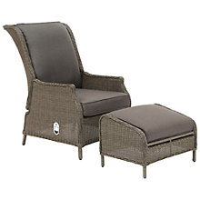 Buy KETTLER Lakena Reclining Armchair and Footstool Online at johnlewis.com