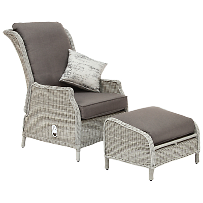 KETTLER Lakena Reclining Armchair and Footstool