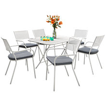 Buy KETTLER Urbano Terraza 6-Seater Dining Set Online at johnlewis.com