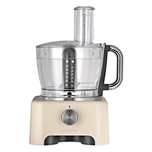 Buy Kenwood FPX932 kMix Food Processor, Almond Online at johnlewis.com