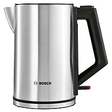 Buy Bosch TWK7101GB City Kettle, Stainless Steel Online at johnlewis.com
