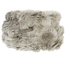 Buy Chesca Faux Fur Cloche Hat, Grey Online at johnlewis.com