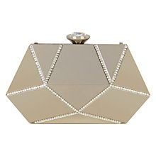 Buy Coast Mara Clutch, Silver Online at johnlewis.com