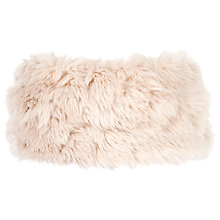 Buy Chesca Faux Fur Headband Hat, Soft Pink Online at johnlewis.com