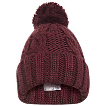 Buy Miss Selfridge Turn Up Beanie Online at johnlewis.com