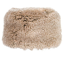 Buy Chesca Faux Fur Hat, Chinchilla Online at johnlewis.com