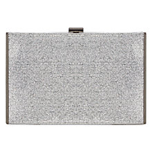 Buy Coast Ellen Clutch, Silver Online at johnlewis.com