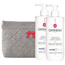 Buy Gatineau AHA Body Lotion, 2 x 400ml Online at johnlewis.com
