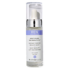 Buy REN Keep Young and Beautiful Instant Firming Beauty Shot, 30ml Online at johnlewis.com