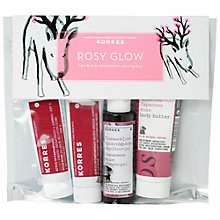 Buy Korres Rosy Glow Face and Body Gift Set Online at johnlewis.com