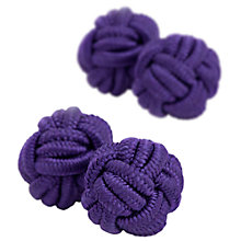 Buy Thomas Pink Classic Knot Cufflinks Online at johnlewis.com