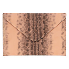 Buy Coast Layla Box Clutch, Blush Online at johnlewis.com