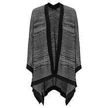 Buy Warehouse Space Dye Cape, Dark Grey Online at johnlewis.com