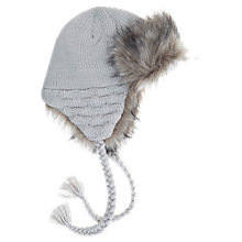 Buy Mint Velvet Trapper Hat, Latte Online at johnlewis.com