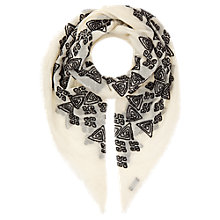 Buy Jigsaw Hand Knotted Scarf Online at johnlewis.com