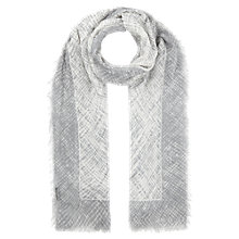 Buy Jigsaw Inverted Print Scarf Online at johnlewis.com