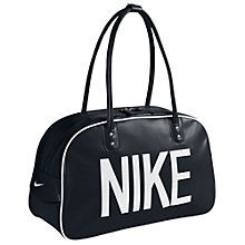 Buy Nike Heritage Shoulder Club Bag, Black Online at johnlewis.com