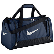 Buy Nike Brasilia 6 Small Duffle Bag Online at johnlewis.com