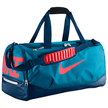 Buy Nike Team Training Max Air Medium Duffel Bag, Blue Online at johnlewis.com
