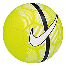 Buy Nike Mercurial Fade Football, Size 5, Volt Online at johnlewis.com