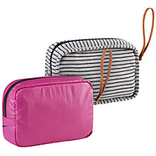 Buy Nike Small Studio Kit Bag, Pink Online at johnlewis.com
