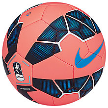 Buy Nike Skills EPL Strike Football, Size 1, Orange/Blue Online at johnlewis.com