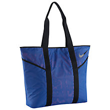Buy Nike NSW Blue Label Tote, Blue Online at johnlewis.com