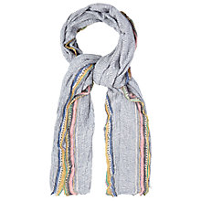 Buy White Stuff Cabin Selvedge Scarf, Multi Online at johnlewis.com