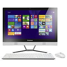 "Buy Lenovo C50 All-in-One Desktop PC, Intel Core i5, 8GB RAM, 1TB, 23"" Online at johnlewis.com"