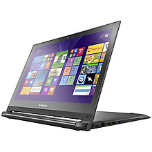 "Buy Lenovo Flex 2 Dual-Mode Laptop, Intel Core i7, 16GB RAM, 256GB SSD, 15.6"" Touch Screen, Black Online at johnlewis.com"