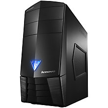 Buy Lenovo Erazer X310 Desktop PC, Intel Core i7, 16GB RAM, 1TB+8GB SSHD, Black Online at johnlewis.com