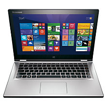 "Buy Lenovo Yoga 2 Convertible Ultrabook, Intel Core i7, 8GB RAM, 500GB + 8GB SSHD, 13.3"" Touch Screen Online at johnlewis.com"