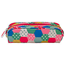 Buy Cath Kidston Mini Patchwork Pencil Case, Large Online at johnlewis.com