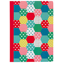 Buy Cath Kidston Patchwork Spot Notebook, A5 Online at johnlewis.com