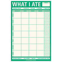 Buy Knock Knock What I Ate Notepad Online at johnlewis.com