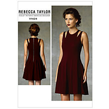 Buy Vogue Women's Rebecca Taylor Dress Sewing Pattern, 1424 Online at johnlewis.com
