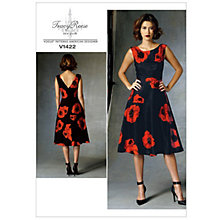 Buy Vogue Women's Dress Sewing Pattern, 1422 Online at johnlewis.com